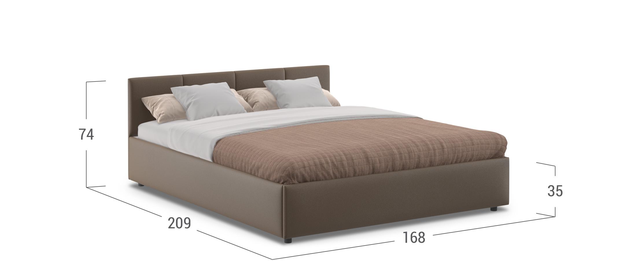 Кровать двуспальная Прима 160х200 Модель 1200